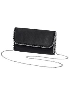 Clutch, bpc bonprix collection, zwart/zilverkleur