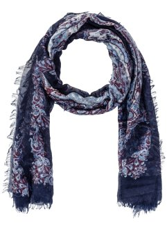 Sjaal, bpc bonprix collection, donkerblauw
