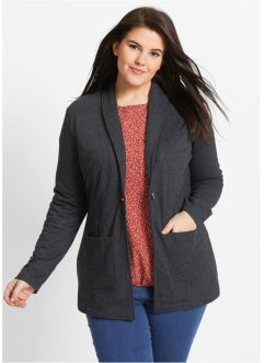 Longblazer, bpc bonprix collection, zwart
