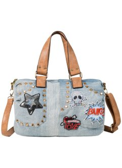 Bowlingbag, bpc bonprix collection, blue bleached