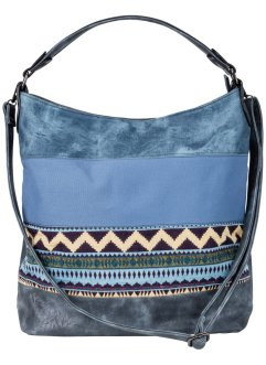 Shopper, bpc bonprix collection, jeansblauw