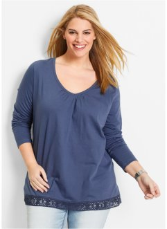 Longsleeve, bpc bonprix collection, indigo