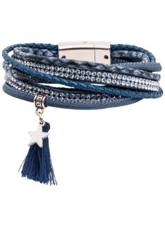 Wikkelarmband, bpc bonprix collection, donkerblauw