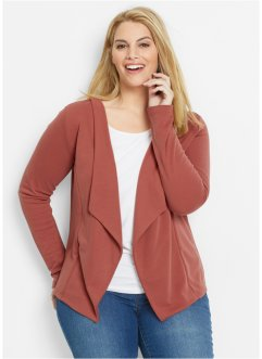 Blazer, bpc bonprix collection, marsala