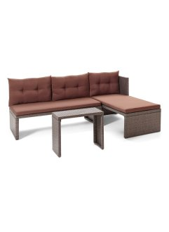 Balkonmeubels «Rhodos» (3-dlg. set), bpc living bonprix collection
