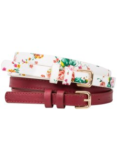 Riem (2-dlg. set), bpc bonprix collection, bordeaux