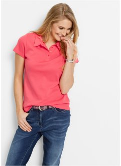 Poloshirt, bpc bonprix collection, lichtpink