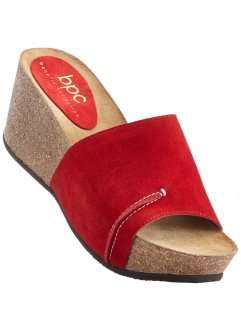 Clogs, bpc bonprix collection, rood