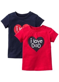 Babyshirt (set van 2), bpc bonprix collection