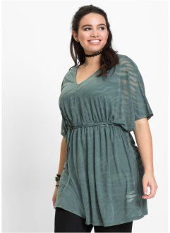 Tuniek+top (2-dlg. set), RAINBOW, eucalyptusgroen