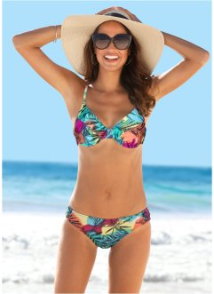 Bikinibroekje, bpc bonprix collection, pink/blauw gedessineerd