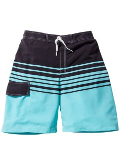 Zwemshort, bpc bonprix collection, turkoois/grijs
