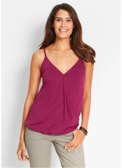 Top, bpc bonprix collection, bessenrood
