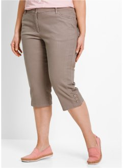 Stretchcapri, bpc bonprix collection, taupe