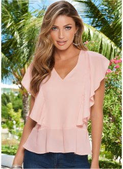 Blouse, BODYFLIRT boutique, lichtroze