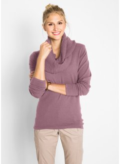 Longpullover+sjaal (2-dlg. set), bpc bonprix collection
