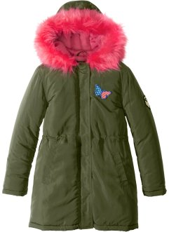 Parka met capuchon en fake fur, bpc bonprix collection