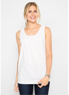 Top met kant, bpc bonprix collection