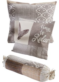 Sprei met patchworkprint, bpc living bonprix collection