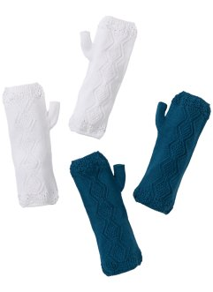 Armwarmers (4-dlg. set), bpc bonprix collection