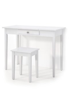 Toilettafel+hocker «Leona», bpc living