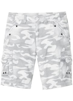 Cargo bermuda, baggy fit, RAINBOW