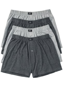 Losse boxershort (set van 4), bpc bonprix collection