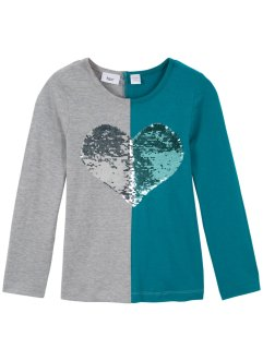 Longsleeve met omkeerbare pailletten, bpc bonprix collection