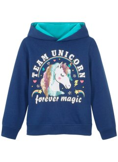 Hoodie met pailletten, bpc bonprix collection