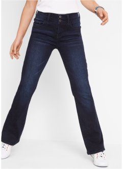 Corrigerende stretch jeans, bootcut, John Baner JEANSWEAR