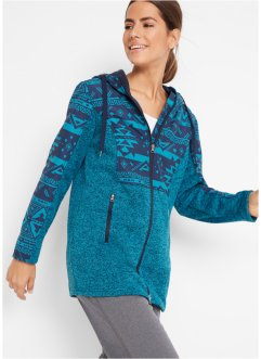 Fleece vest met capuchon, bpc bonprix collection