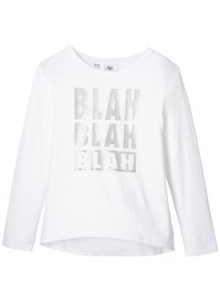 Longsleeve met glitterprint, bpc bonprix collection