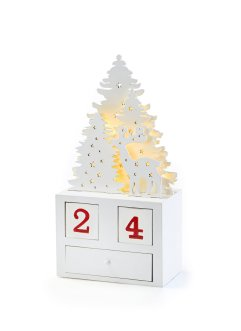 LED adventskalender «Winterlandschap», bpc living bonprix collection