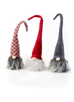 Hangdecoratie «Santa» (3-dlg. set), bpc living bonprix collection