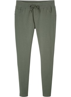 Sweatpants met geribde band, bpc bonprix collection