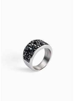 Ring met Swarovski® kristallen, bpc bonprix collection