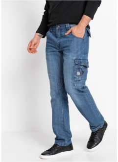 Cargo jeans van robuust denim, bpc bonprix collection