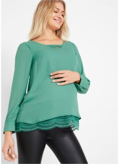 Voedingsblouse met kant, bpc bonprix collection