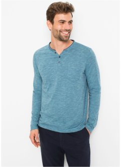 Henley shirt met lange mouwen, bpc bonprix collection