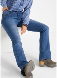 Comfort stretch jeans, bootcut, John Baner JEANSWEAR