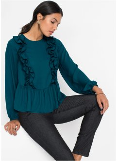 Blouse met volants, BODYFLIRT