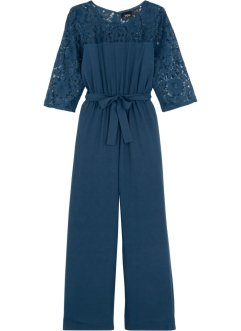 Jumpsuit met kant, bpc bonprix collection