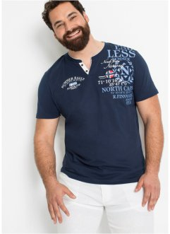 Henley shirt met print, bpc selection