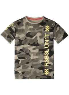 T-shirt met camouflageprint, bpc bonprix collection