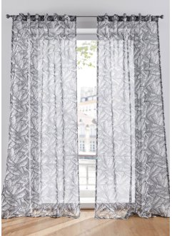 Halftransparant gordijn met print (1 stuk), bpc living bonprix collection