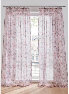 Transparant gordijn met print (1 stuk), bpc living bonprix collection