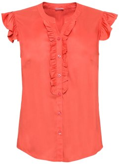 Blouse met ruches, BODYFLIRT