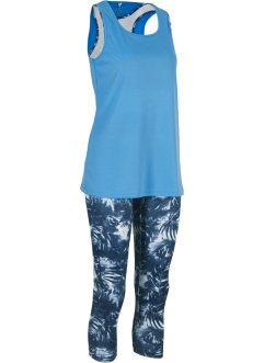 Outdoor legging, top en bralette (3-dlg. set), bpc bonprix collection