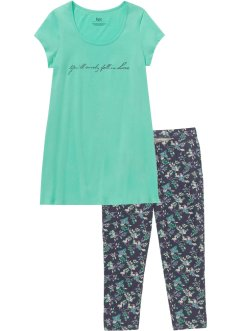 Pyjama met capri legging (2-dlg. set), bpc bonprix collection
