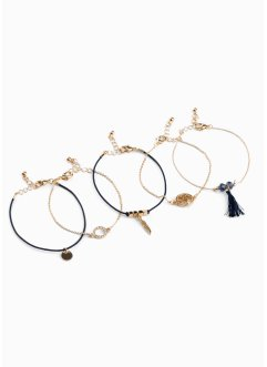 Armbanden set (5-dlg.), bpc bonprix collection